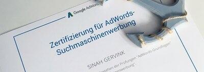 Wir sind Google zertifiziert! Oder warum ihr sonst noch auf AdWords setzen solltet!
